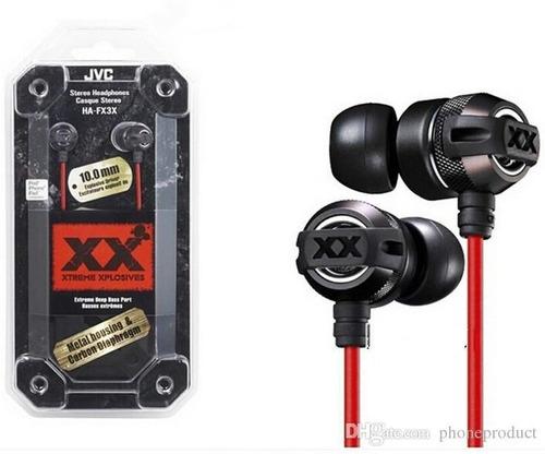 fone de ouvido jvc ha fx3x xtreme xplosives original