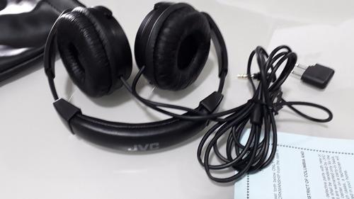 fone de ouvido  jvc ha-nc80-j/-c com noise cancelling