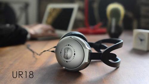 fone de ouvido koss ur18 full-size stereophone full
