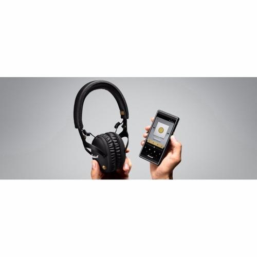 fone de ouvido marshall headphones monitor preto
