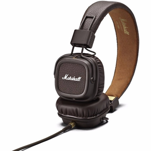 fone de ouvido marshall major ii 04091112 marrom