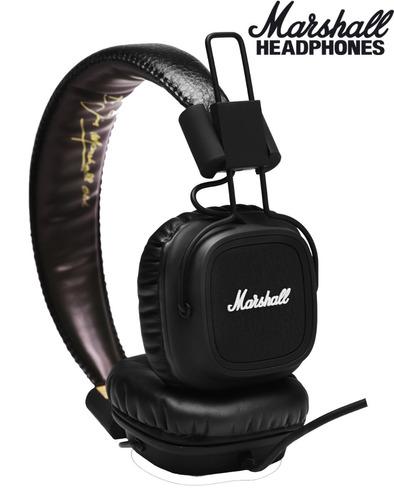 fone de ouvido marshall major original na caixa