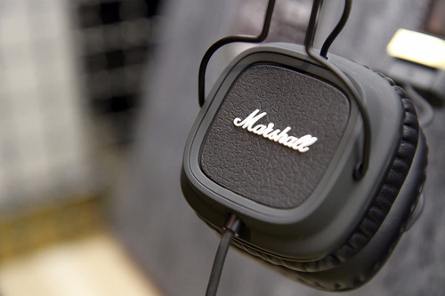 fone de ouvido marshall major s/caixa pronta entrega