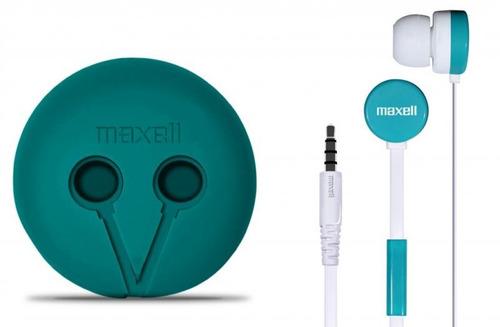 fone de ouvido maxell wr-360 - verde/branco