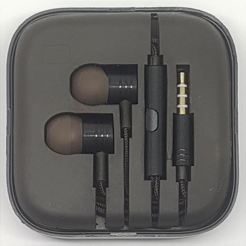 fone de ouvido metal p2 preto