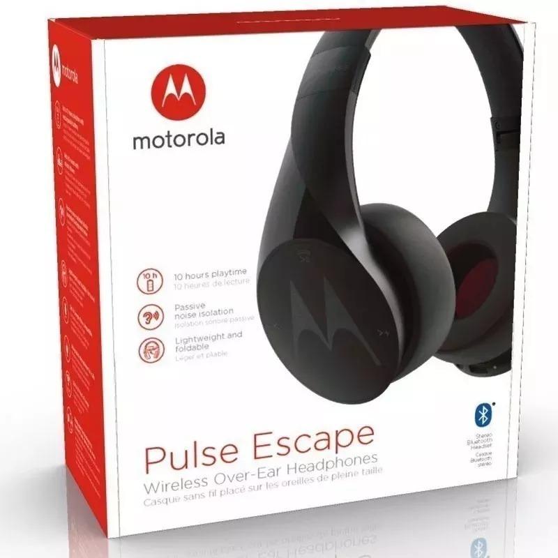 5eb739379 Fone De Ouvido Motorola Pulse Escape Bluetooth Preto Branco - R  169 ...