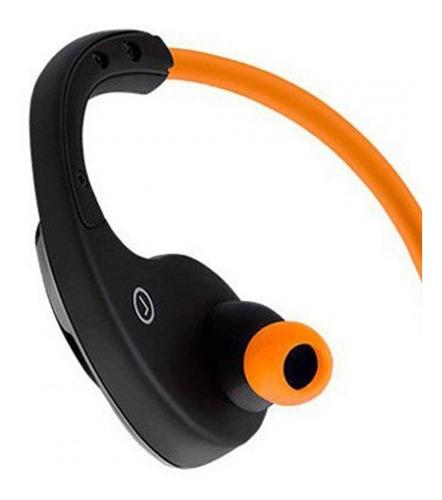 fone de ouvido multilaser arco sport bluetooth laranja ph185