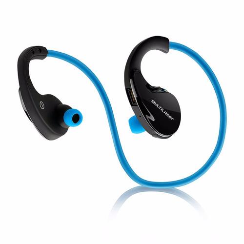 fone de ouvido multilaser bluetooth ph182 azul