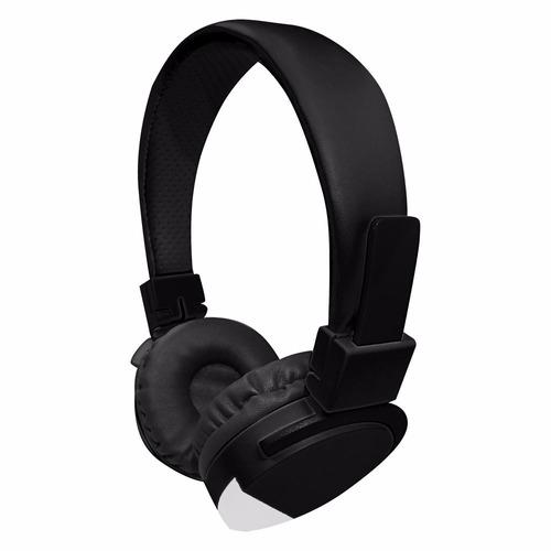 fone de ouvido new urban sound  preto/branco mymax