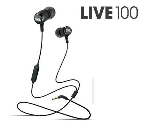 fone de ouvido original jbl live 100 com fio nota fiscal