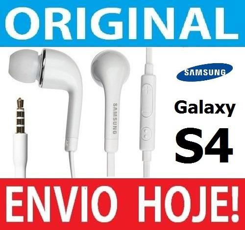 fone de ouvido original samsung galaxy s4, s5 note 3 4 i9500