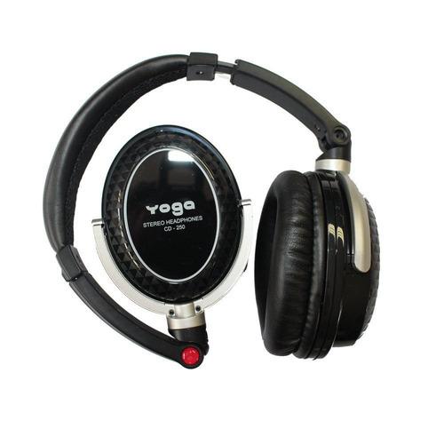 fone de ouvido over-ear 10hz - 22khz - cd 250 yoga