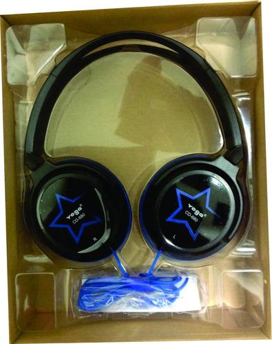 fone de ouvido over-ear cd 680 s azul - yoga