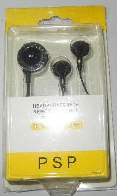 fone de ouvido para psp 2000/3000 ótima qualidade