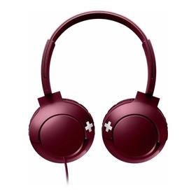 Fone De Ouvido Philips Bass+ Shl3075 Vermelho