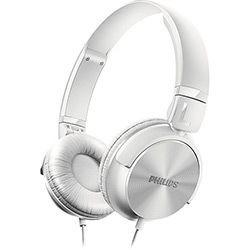 fone de ouvido philips c/ mic shl 3165wt branco