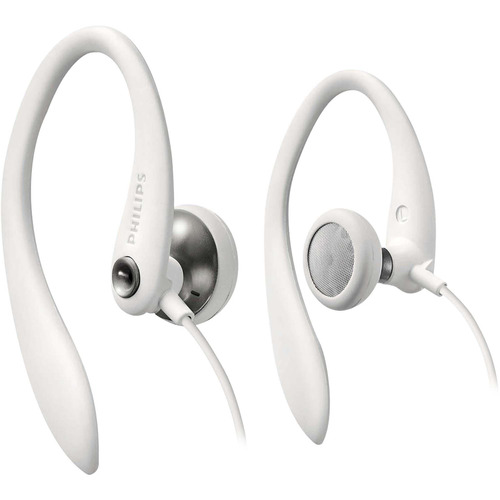 fone de ouvido philips shs3300wt/10 esportivo com fio 1,2 m