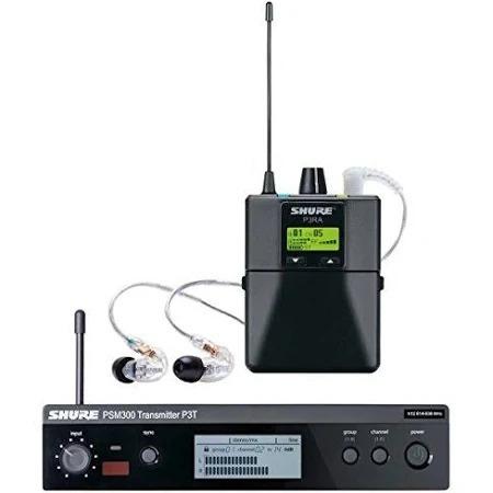 fone de ouvido (ponto) psm 300 - shure (sistema in-ear)