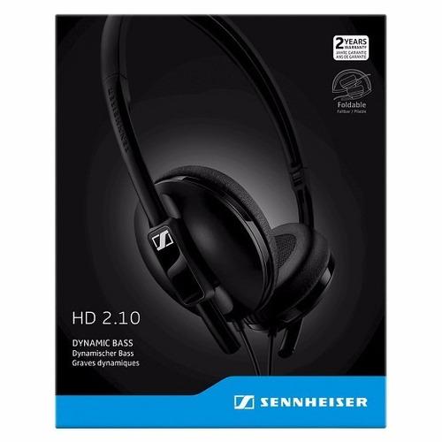 fone de ouvido profissional sennheiser hd 2.1
