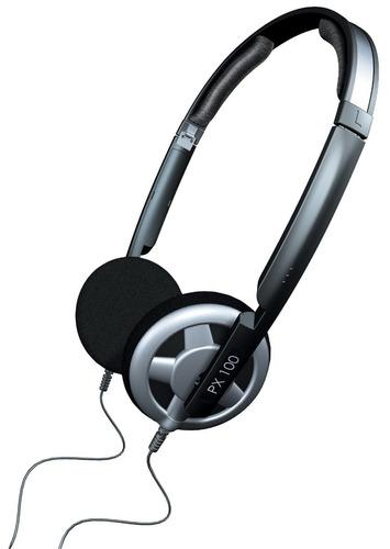 fone de ouvido profissional sennheiser px100 lightweight