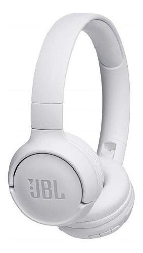 fone de ouvido sem fio jbl tune 500bt branco