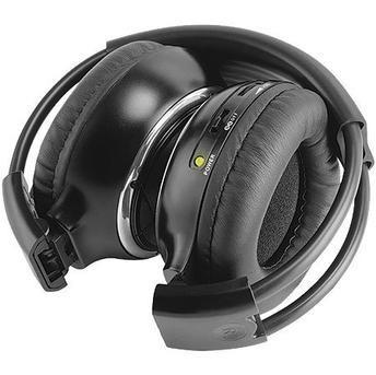 fone de ouvido sem fio p/ encosto de cabeça + transmissão ir