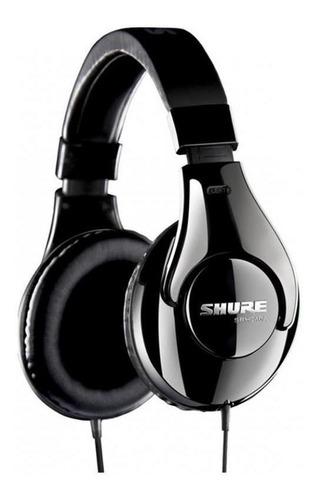 fone de ouvido shure srh240a, profissional - preto
