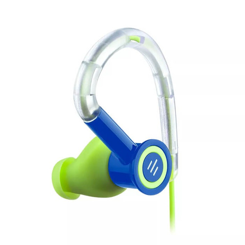 fone de ouvido silicone earhook pulse azul-verde pulse - ph2