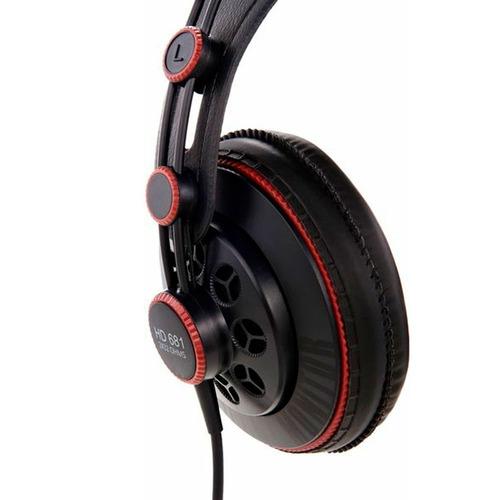 fone de ouvido superlux hd681 profissional dj estúdio jogos