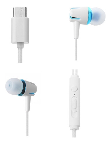 fone de ouvido - usb tipo c - microfone - intra auricular