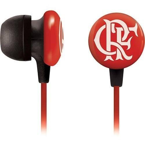 fone de ouvido waldman intra-auricular super fan - flamengo