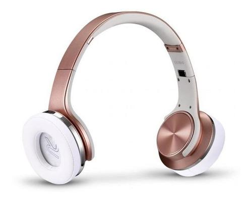 fone de ouvido xtrax duo, ouro rose - bluetooth