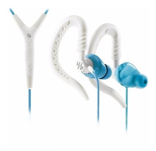 fone de ouvido yurbuds jbl focus 400 branco e azul