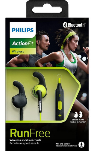 fone esportivo bluetooth wireless sem fio microfone philips