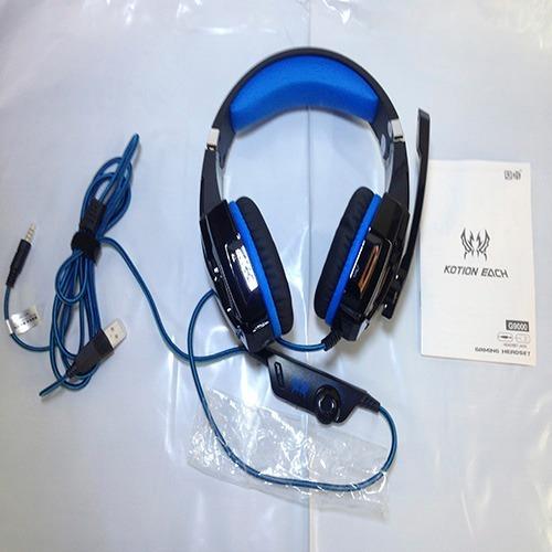 Fone Gamer Headset Ps4 Xbox Pc P2 Usb Kotion Each G9000 R 11999