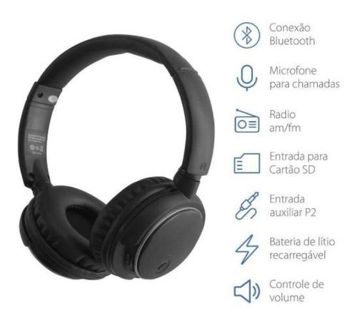 fone headphone bluetooth kimaster k1/ kb1 fm cartão original