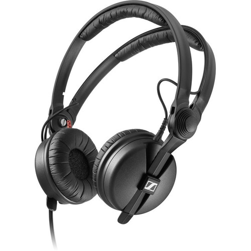 fone headphone sennheiser hd25 plus original cabo aspiral