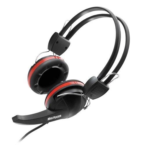 fone headset crab c/ microfone ph042 multilaser