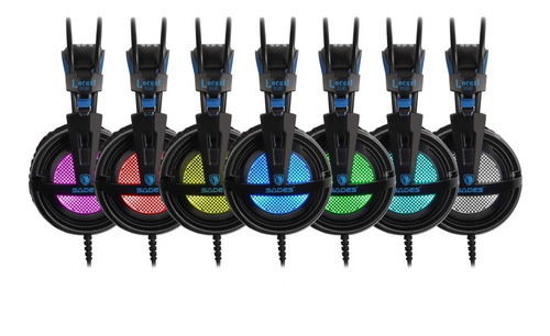fone headset gamer 7.1 rgb usb sades locust plus ps4 / pc