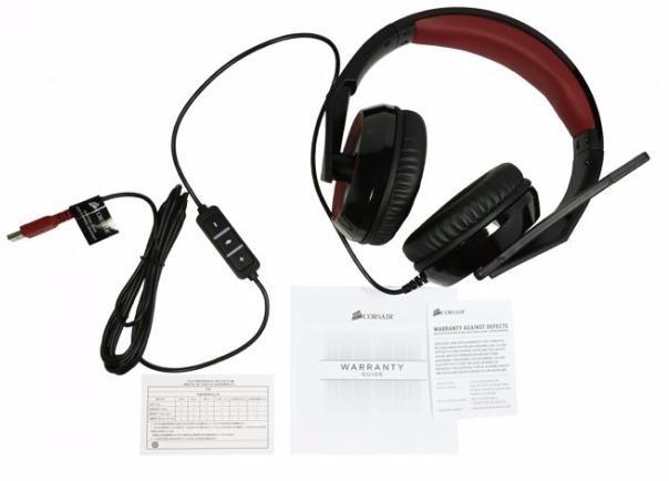 Fone Headset Gamer Corsair Raptor Hs40 Usb 7.1 Surround ! - R$ 184 ...