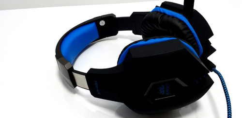 fone headset gamer playstation ps4 knup kp-451 p2 / p3 3.5mm