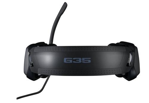 fone headset logitech g35 usb 7.1 surround box lacrado