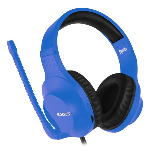 fone headset spirits sades azul / vermelho - ps4 / xbox one