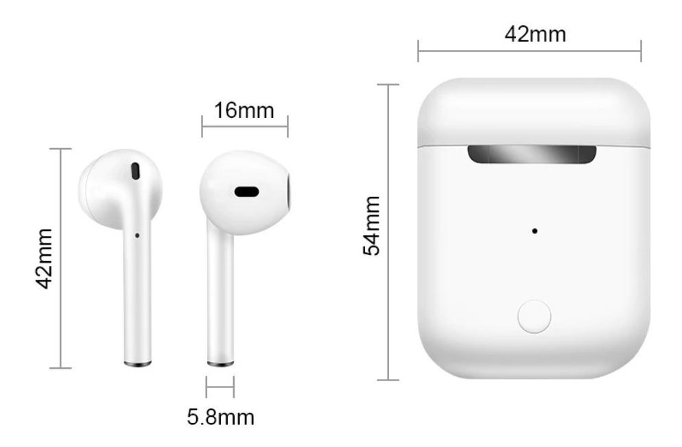 Fone I12 Tws Bluetooth Pronta Entrega + Brinde