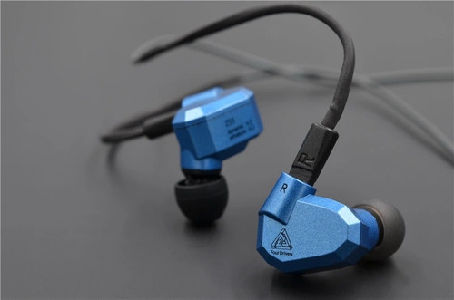 fone in-ear kz zs5 profi 4 drives original + bag original kz