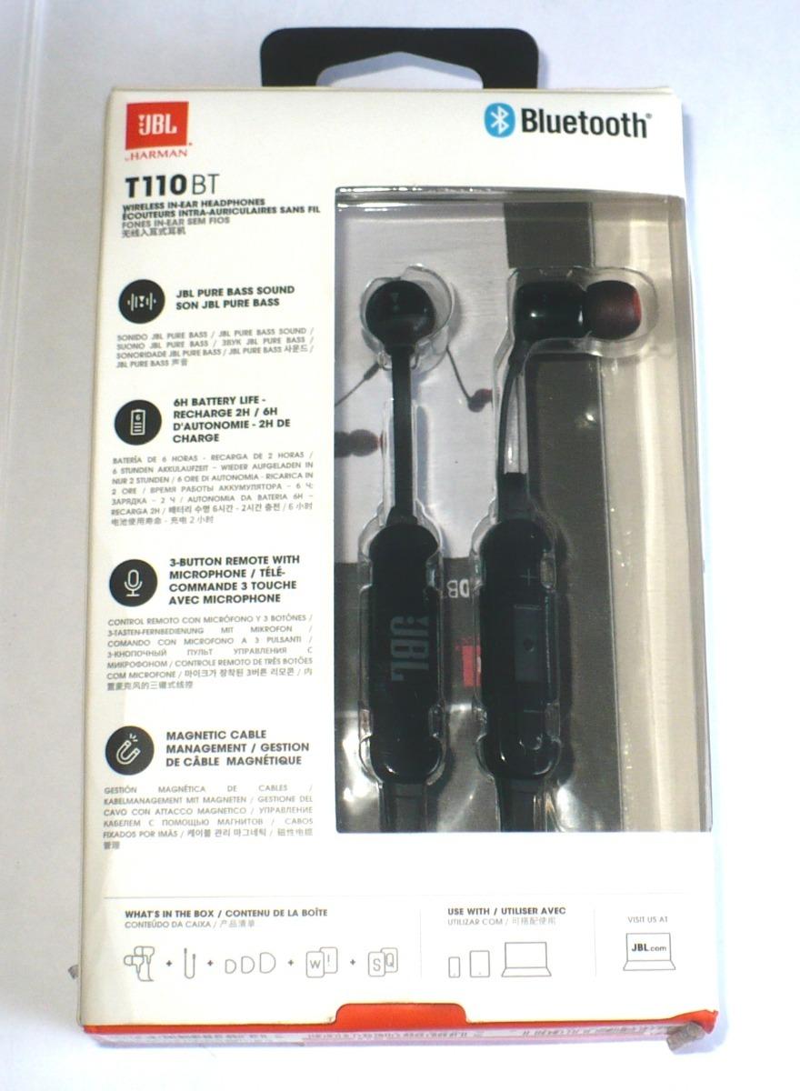 Fone Jbl T110bt Bluetooth - Original - Com Detalhe Leia! #1