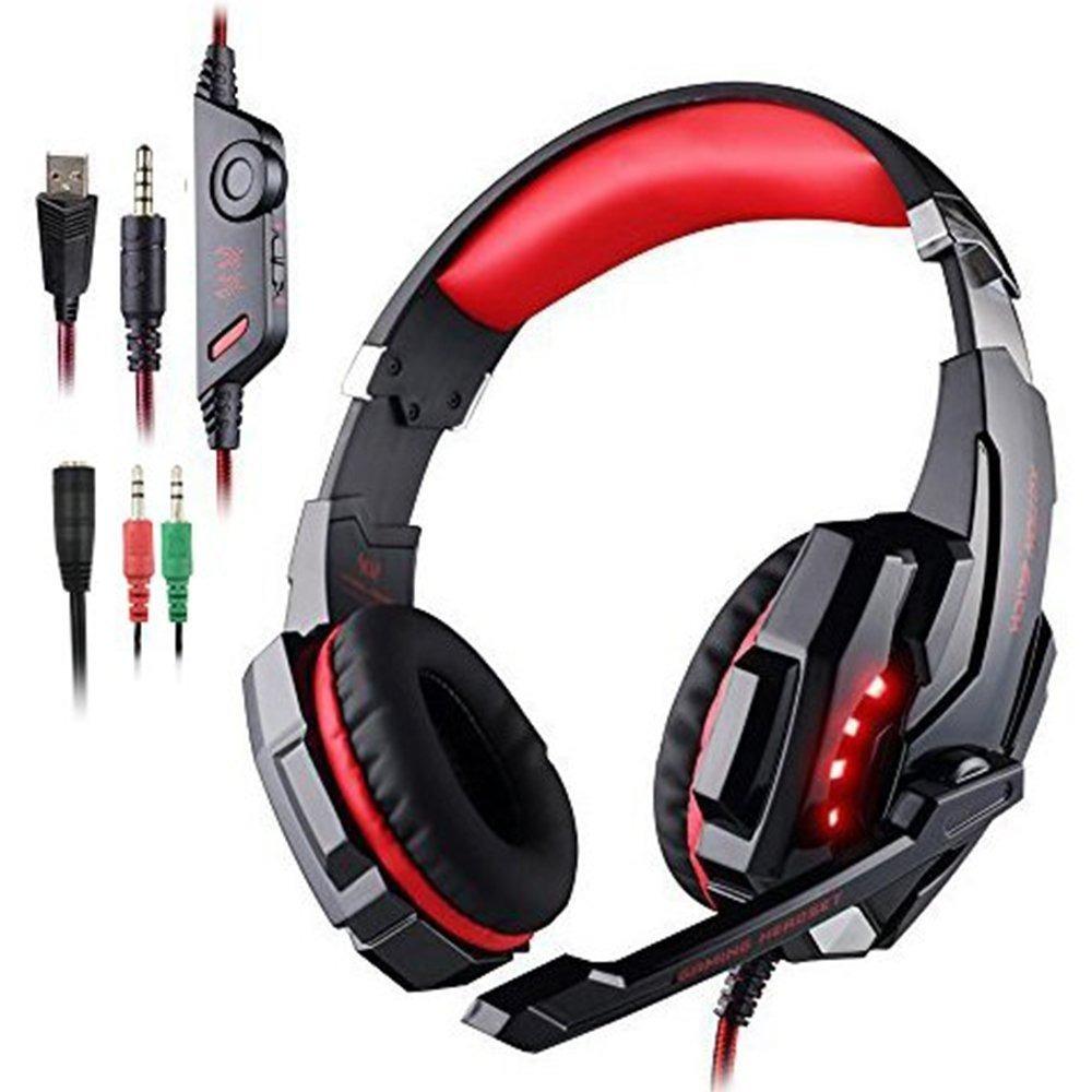 Fone Kotion Each G9000 Vermelho Gamer Headset Pcps4xbox R 239