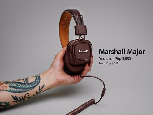 fone marshall headphone