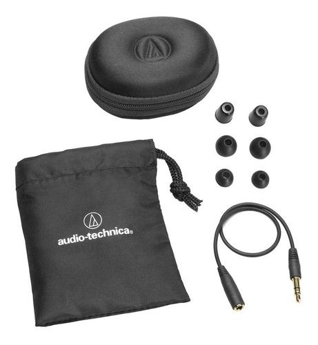 fone ouvido audio techinica ep3 (shure se 215)