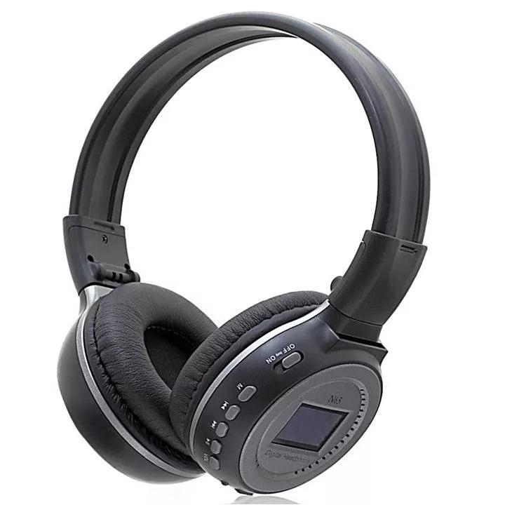 2d636e1dc Fone Ouvido Bluetooth Headset S Fio Visor Fm Stereo N65 Radi - R  44 ...